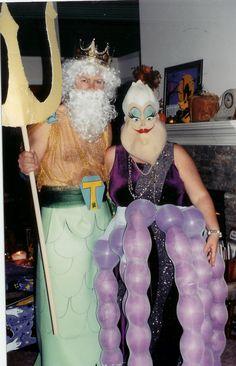 King Triton and Ursula
