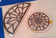 Window trims for stained glass