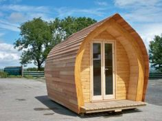 A Pod of Wales | Timder wooden garden pod ideal as extra room or comping holiday etc