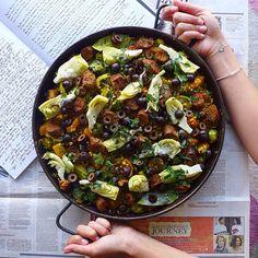 Vegetarian Paella on Pinterest | Paella, Paella Recipe and Vegetables