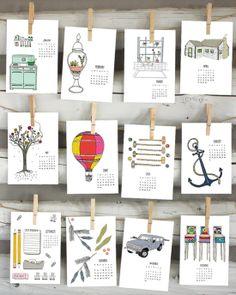 Graphic Designer Calendar