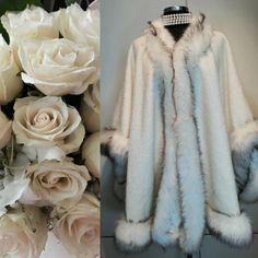 #handmadefashion #elegancape #wedding #longjacket #giftforwife