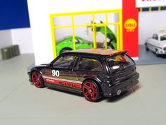 Hot Wheels '90 Honda Civic EF rear back