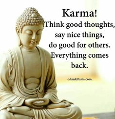 That's what the karma is!!!