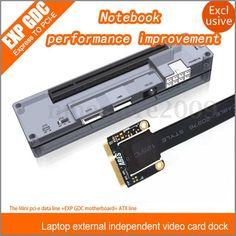V8.0 EXP GDC Laptop External Independent Video Card Dock Mini PCI-E For Beast   Computers/Tablets & Networking, Computer Components & Parts, Graphics/Video Cards   eBay!