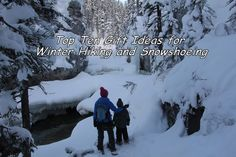 Family Adventures in the Canadian Rockies: Holiday Gift Guide for Winter Hiking and Snowshoeing (With GIVEAWAYS)
