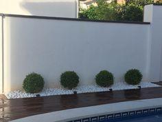 best white gravel landscaping ideas & designs for 10 Back Garden Design, Modern Garden Design, Yard Design, Landscape Design, Gravel Landscaping, Modern Landscaping, Front Yard Landscaping, Landscaping Ideas, Backyard Ideas
