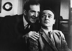 Ted Ray and Kenneth Connor. Carry On Teacher. 1959