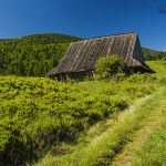 Bacówka na Polanie Podskały Shepherds Hut, Krakow, Baron, Country Roads, Mountains, Building, Nature, Photographs, Travel