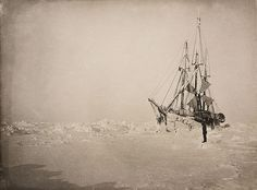 Fram's voyage. Nansen assumed that the ice had to drift from east to west across the North Pole, so he let his ship, the Fram, become icebound – it was built for that. The Fram froze in the ice and drifted, but not far enough to the north, so Nansen decided to get off and continue on foot. He got farther north than anyone had before, but he never reached the Pole. He did however return home, as a scientist with many observations and a wealth of fascinating photographs.