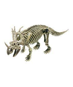 Look what I found on #zulily! Styracosaurus Excavation Set #zulilyfinds