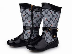 Gucci Kids Boots. So stylish for kids!