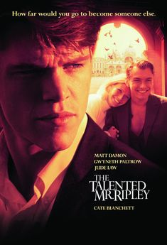 Charming sociopath Tom Ripley maneuvers his way into the lush life of a young heir vacationing in Italy in this increasingly creepy thriller.