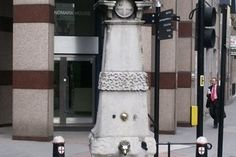 Aldgate Pump in London England