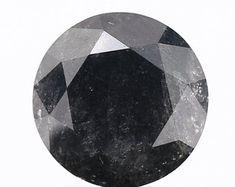 FANCY-ROSECUT-GREY-BLACK-BLUE-SLICE-BEAD LOOSE by SHREEDIAMOND Salt And Pepper Diamond, Round Cut Diamond, Wedding Rings, Fancy, Beads, Grey, Unique Jewelry, Handmade Gifts, Blue
