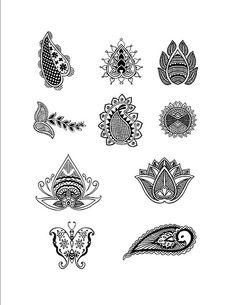 Free Henna Design Page