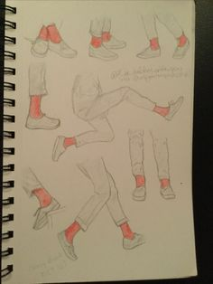 THE WHOLE PAGE OF LEGS