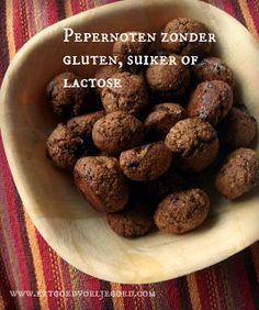 Eet goed, Voel je goed: Pepernoten 2.0 Suikervrij, Glutenvrij, Lactosevrij