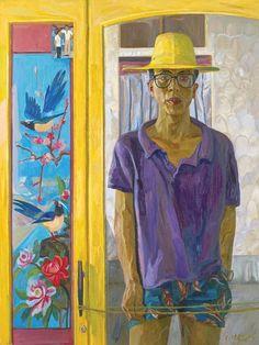 Liu Xiaodong / 刘小东, b. 1963 Self Portrait China (1993)