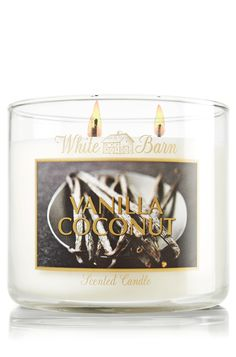 Vanilla Coconut 14.5 oz. 3-Wick Candle - Slatkin & Co. - Bath & Body Works