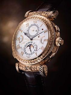 El reloj creado para conmemorar los 175 años de la marca es el más complicado reloj de muñeca del mundo.