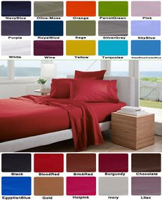 1000 Thread Count Egyptian Cotton Scala Bedding Items All Sizes Hot Pink Stripe
