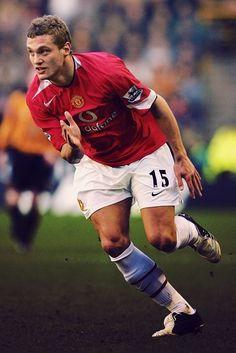 Nemanja Vidic in his debut season