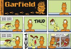Garfield by Jim Davis Sunday, July 20, 2014                                                                                                               A classic!
