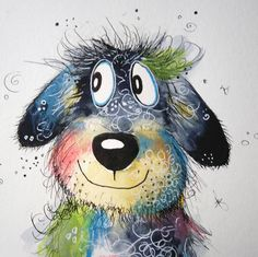 About Clarissa - Learn to paint with joy and fun. Online painting courses for you. Watercolor Animals, Watercolor Paintings, Watercolour, Tableau Pop Art, Painting Courses, Illustrator, Happy Paintings, Online Painting, Learn To Paint