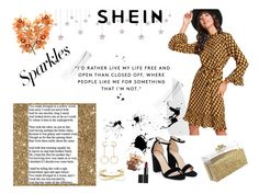 """""""Shein contest"""" by nedma-aganovic ❤ liked on Polyvore featuring Nasty Gal, Chloé and Maybelline"""