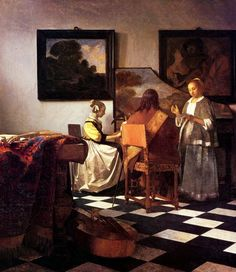 Jan Vermeer, The Concert, c.1664