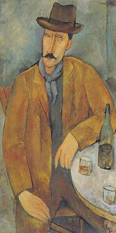 Amadeo Modigliani - A seated man leaning on a table 🇫🇷 Gigi Pinson 🇫🇷 🇫🇷 Gigi Pinson 🇫🇷 сохранил(а) Пин на доску ART-Modigliani Amedeo Italie Jeanne Hebuterne (with a scarf) - Amedeo Modigliani 5 дн. Amedeo Modigliani, Modigliani Paintings, Paul Cezanne, Italian Painters, Italian Artist, Henri De Toulouse Lautrec, Maurice Utrillo, Sculpture Textile, Oil Painting Reproductions