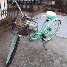Mint Green Schwinn Bike