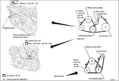 E F A F B Ec A Nissan Sentra Belts on 2000 Lincoln Continental Serpentine Belt Diagram