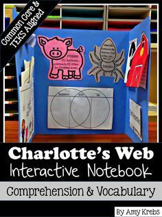 Love these Charlotte's Web activities.  What a great way to combine Charlotte's Web with standards based fun activities.