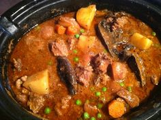 Guinness Beef Stew in a Crock Pot. Neal F. said this was the best he's ever had.