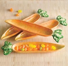 Carrot trays...great clay idea                                                                                                                                                                                 More