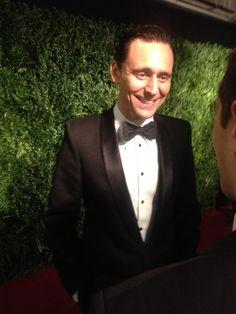 Tom Hiddleston at the 60th London Evening Standard Theatre Awards at the London Palladium on November 30, 2014