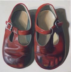 New Blood Art | My First Shoes by Keren Luchtenstein | Buy Original Art Online | Artworks by Emerging Artists for Sale