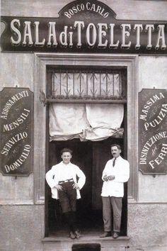 Vecchia Milano - Il barbiere
