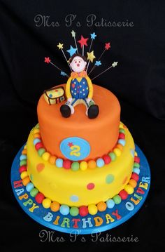 Mr Tumble (inspired by Suzie cakes)