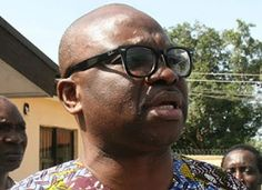 Governor Ayodele Fayose of Ekiti State Visits Fani-Kayode in EFCC Custody   The Governor of Ekiti stateAyo Fayose today paid a surprise visit to the detained former Minister of Aviation Femi Fani-Kayode at the EFCC detention centre in Abuja.  The Governor of Ekiti State Ayodele Fayose today visited former Minister of Aviation Femi Fani-Kayode at the EFCC Abuja Office. Fayose arrived at the EFCC office at 2:15pm and left at 4:30pm. He was received by three operatives of the EFCC led by Mr…