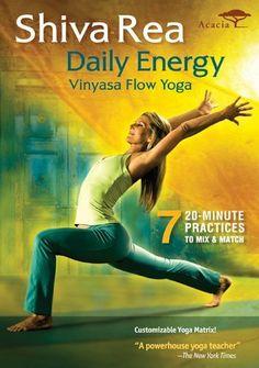 Shiva Rea: Daily Energy - Vinyasa Flow Yoga DVD ~ Shiva Rea, http://www.amazon.com/dp/B002IVLWCE/ref=cm_sw_r_pi_dp_gIHAqb095BSPZ