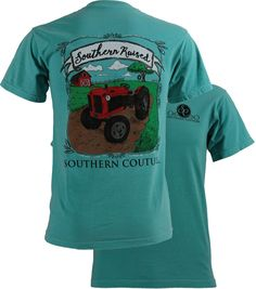 Southern Couture Southern Raised Comfort Color Tee