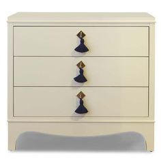 Small Easton Chest - White