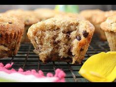 Super Easy Chocolate Chip Banana Walnut Muffins (video!) – PaleOMG – Paleo Recipes