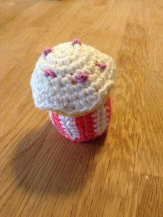 Hæklet cupcakes