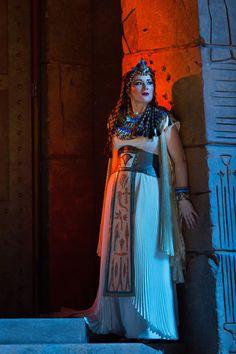 Ekaterina Gubanova as Amneris from The Met Opera's production of Verdi's 'Aida' - Photo by Marty Sohl/Met Opera