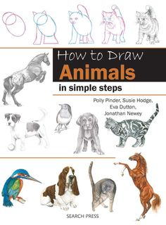 by Eva Dutton & Polly Pinder Learn how to draw cute household pets, impressive wild animals and amazing birds using this fun and easy step-by-step method.