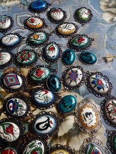 Çini Crafts To Make, Resin, Enamels